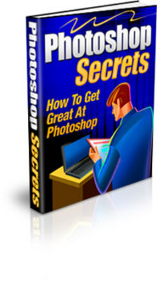 Product picture Photoshop Secrets with PLR and MRR